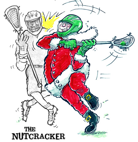 Lacrosse Christmas Cards